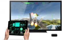 Airplay your games to appleTV,