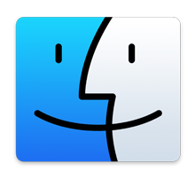 new finder icon in OS X Yosemite